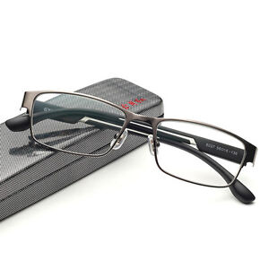Quality Metal Full Frame HD Lens Coating Reading Glasses Vision Care +1.00~+4.00