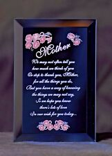 A Gift for Mother - A Keepsake Plaque for Mom