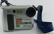 Sony MVC-FD75 Digital Camera for Parts Only Comes with Strap No Battery