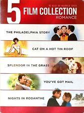 NEW 5 DVD Philadelphia Story / Splendor in the Grass / Cat on a Hot Tin Roof ++2