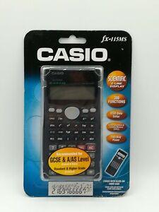 Vintage Casio fx-115MS Scientific Calculator New in packaging