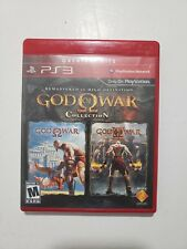 God of War Collection - Greatest Hits (Sony PlayStation 3, 2009) COMPLETE