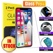 2X Tempered Glass Screen Protector for Apple iPhone SE 2020 8 7 Plus 6 6S 5S XS