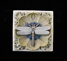 Dragonfly Arts & Crafts Gothic Ellison Tile