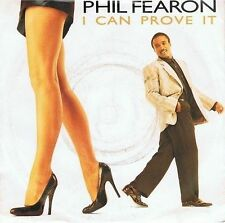 PHIL FEARON I Can Prove It Vinyl Record 7 Inch Ensign PF 1 1986
