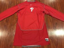Nike Men's Philadelphia Phillies Pro Compression Training Jersey Shirt 3XL XXXL