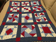 Handmade Afghan / Throw Blanket - From Designer Collection