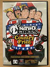 Nitro Circus Country Fried DVD Rare Jackass-Style Bike Motorcycle Stunts Show