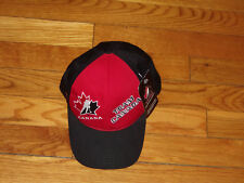 NWT TEAM CANADA HOCKEY ADJUSTABLE STRAP BASEBALL CAP YOUTH