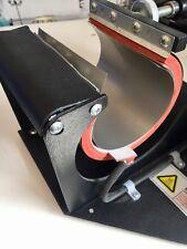 """3 feuilles de 10""""x5"""" en Téflon PTFE Mug Press Protecteur sublimation. Meilleure qualité."""