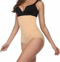 High Waist Tummy Control Shapewear Panties for Women Shaping, Nude, Size X-Large