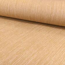 INTERNATIONAL STRIPED PATTERN PLAIN STRIPE TEXTURED EMBOSSED WALLPAPER BROWN