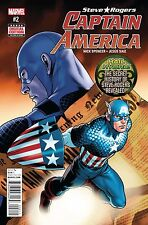 STEVE ROGERS CAPTAIN AMERICA #2 1ST PRINTING!! 2016 MARVEL COMICS!-TRADER!
