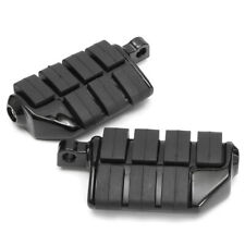 Black Motorcycle Highway Foot Pegs Aluminum Footpegs Rest For Harley Davidson A