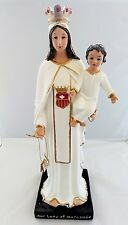 "17"" Our Lady of Mercedes Santa St Religious Statue Figurine Figure Virgen de"