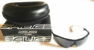 Occhiali Salice Ciclismo Nero RW 004+lenti ric.