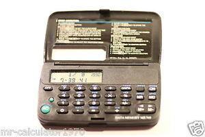 DATA MEMORY MX749  Pocket  Organiser 1990