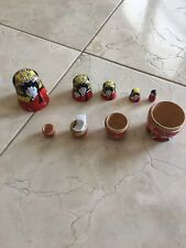 JAPANESE WOOD NESTING DOLLS