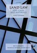 LAND LAW - MCFARLANE, BEN/ HOPKINS, NICHOLAS/ NIELD, SARAH - NEW PAPERBACK BOOK