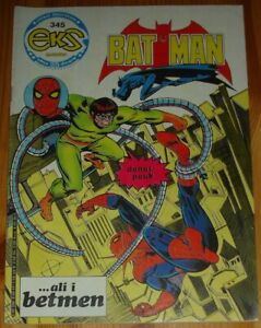 Spider-Man / Doctor Octopus 1st app / Eks almanah 345 / Yugoslavia 1982 / Batman