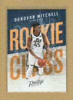 2017-18 Panini Prestige Donovan Mitchell RC, Rookie Class, Utah Jazz