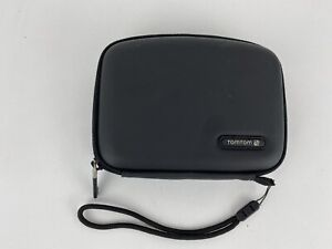 Genuine TomTom GPS Hard Cover Carrying Case With Strap - Great Condition