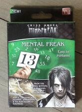 Criss Angel Mind Freak Mental Freak Pick a Number Trick NIP