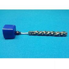 Custom Hand Forged Rubix / Cube Twist Pool Chalk Holder , Chalker , Billiards