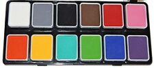 Wolfe Face Paint Kit Professional Face Painting Palettes Essentials 12hydrocolor