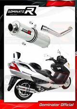 C.SU.0009.B Tubo De Escape Completo MIVV Urban Acero Burgman 400 2003 03 Motos, accesorios y piezas