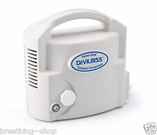 Devilbiss Pulmo-Aide® Compact Compressor Nebulizer System. Free nebulizer kit