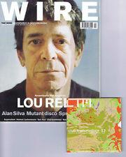 LOU REED / ALAN SILVA / MUTANT DISCOWire magazine + CDNo.228February2003