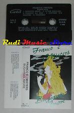 MC FRANCO BASTELLI I MISTERS bugiardo amore LISCIO ITALIAN FOLK cd lp dvd vhs **