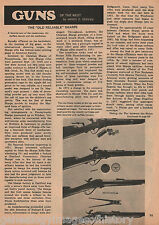 Sharps Rifle - The Old Reliable Gun Of The West