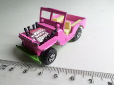 Matchbox 2e Jeep Hot Rod Pink/Green - Superfast