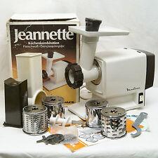 Moulinex Jeannette Robot De Cuisine Vintage Grinder Grater 1980'S