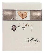 Goldbuch Babytagebuch ´little Mobile´ 44 Seiten braun (11 237)
