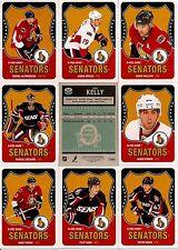 2010-11 OPC O-Pee-Chee Retro Ottawa Senators Complete Team Set (20)