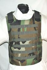 New Large Carrier IIIA  Body Armor Bulletproof Vest with Inserts