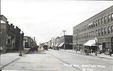 RPPC of Minnesota Ave in Bemidji Minnesota c1918-20s Businesses and Vehicles