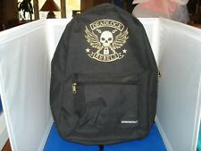 Overwatch Backpack Black and Gold Deadlock Rebels New