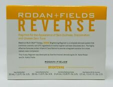 Rodan and + Fields Reverse BRIGHTENING 4 Piece Travel Size Regimen TSA Approved