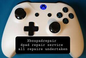 Xbox One/s/x/elite Controller Dpad Repair service warranty inc FREE CUSTOM LED