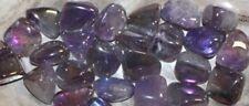 Rainbow Amethyst Tumbled Stone Bulk Gemstone Specimen 1/2 lbs Reiki Chakra Heal