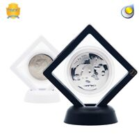 Display Stand Floating Coin Medal Coin Holder Display Case-US Seller! Ship Fast!