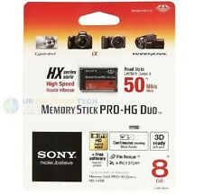 Sony Memory Stick PRO-HG Duo 8GB Card MS-HX8B For Cyber-shot Cameras - Handycam