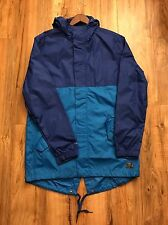 Nike Fishtail Jacket Royal Blue Size Medium M SB Parka Windbreaker Coat