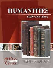 Humanities CLEP Test Study Guide - PassYourClass Used - Great condition!
