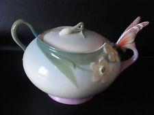 Franz Porcelain Farfalla Barattolo Zucchero-xp1877-Nuovo con Scatola