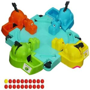 Hungry Hippos Game Elefun And Friends Kids Family Fun Games From Hasbro Gaming